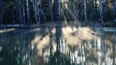 River flows are well down after another dry month across much of southern Australia.