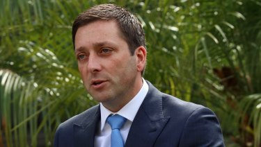 Opposition Leader Matthew Guy's East West Link pitch will make roads a key election battleground.