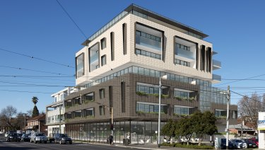An artist sketch of the seven level development approved on the site of the former Greyhound hotel in St Kilda