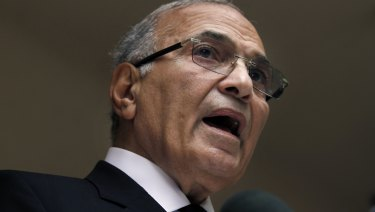 Former Egyptian presidential candidate Ahmed Shafiq pictured in 2012.