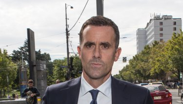 Aussie chief financial officer Giles Boddy.