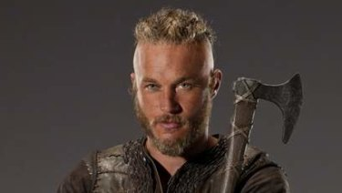 Travis Fimmel in the role that made him a star, as Ragnar Lothbrok on Vikings.