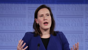 The new Minister for Women Kelly O'Dwyer.