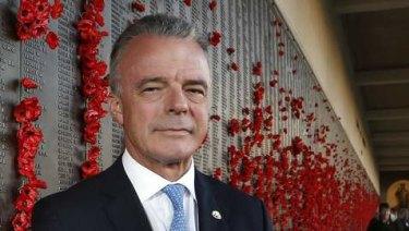 Australian War Memorial director Dr Brendan Nelson.