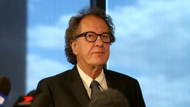 Geoffrey Rush is suing The Daily Telegraph for defamation.
