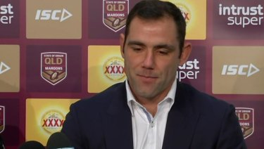 Calling time: Cameron Smith has announced his rep retirement.