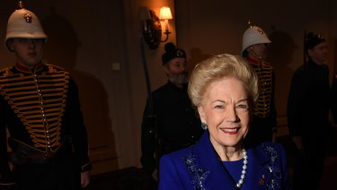 Philanthropist and former Western Bulldogs vice-president Susan Alberti has been named Victorian of the Year for her contribution to public service.