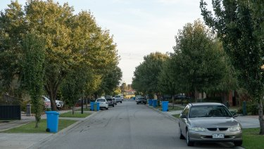 Boronia Avenue in Cranbourne where Sadif Karimi lived with her husband's family before she died.