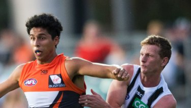 Nick Shipley is the first graduate from the Giants Academy from western Sydney