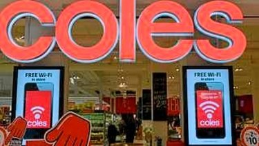 Sales growth at Coles slowed to 0.9 per cent.