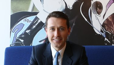 Tom Waterhouse is CEO of global bookmaker William Hill's Australian business.