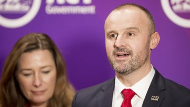 Chief Minister and Treasurer Andrew Barr said his government opposed any changes that would hurt the territory.