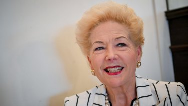 Susan Alberti, former vice president of the Western Bulldogs Football Club.