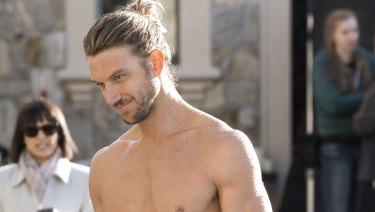 Adam Demos plays hunky, Australian hippy August in season 3 of UnReal.