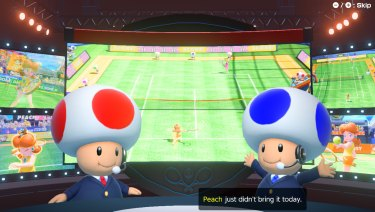 The adventure mode features some funny writing, and the tournaments are commentated by two chatty toads.