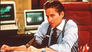 Greed is good? Things have moved on since Gordon Gekko (played by Michael Douglas) in Oliver Stone's 1987 movie Wall Street.