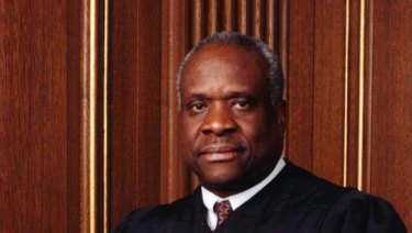 US Supreme Court Justice Clarence Thomas.