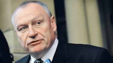 Former Police Association secretary Paul Mullet was the subject of disparaging online remarks.
