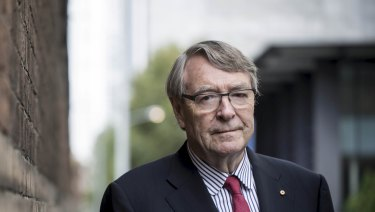 Former judge Stephen Charles says the incident reveals 'the level of ethics and morality of parliament in Canberra'.
