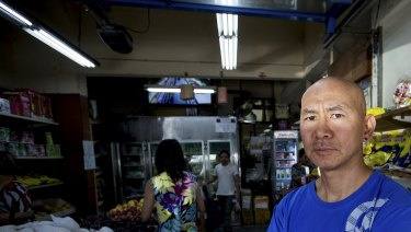 Victoria Street grocer Victor Chen has long argued against an injecting centre.