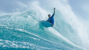 Jack Freestone in action at the Margaret River Pro.