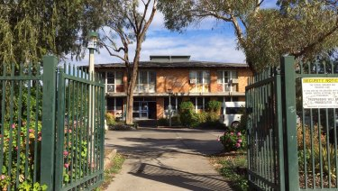 Gone bush: Walgett Public Primary School in western NSW.