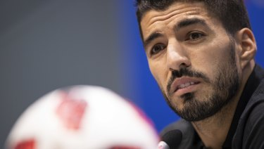 Chance to right some wrongs: Luis Suarez.