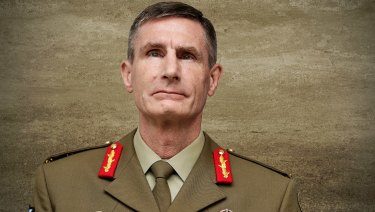 Angus Campbell, who is soon to become Defence Force chief.