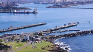 The floating regasification terminal will be built in Port Kembla Harbour.