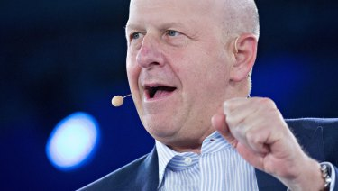Goldman Sachs chief operating officer David Solomon has been anointed to lead the Wall Street power house.