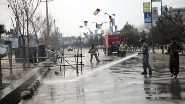 Islamic State claimed the attack but a government official blamed a Taliban affiliate.