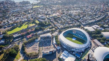 The NSW government has proposed rebuilding Allianz Stadium (pictured) and ANZ Stadium.