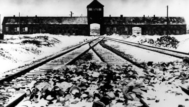 "Auschwitz concentration camp, a site the writer has visited many times, where she feels connected to ""something intangible""."