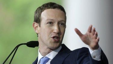 Mark Zuckerberg. Facebook CEO