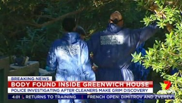 "Police investigate the lower north shore property where a ""mummified"" body was found last week"