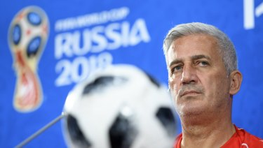 """We're not here to make a lovely match but to win it"": Vladimir Petkovic."