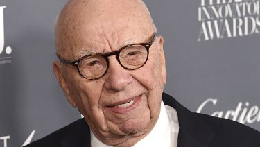 Shares in Rupert Murdoch's News Corp fell in after-hours trading on Wall Street.