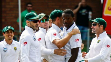 Appeal: Rabada is due to appear at a hearing by video conference on Monday.