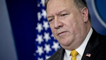 US Secretary of State Mike Pompeo insists the Trump administration is tough on Russia.