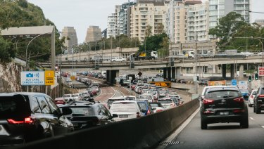 Sydney's congestion at 'tipping point'