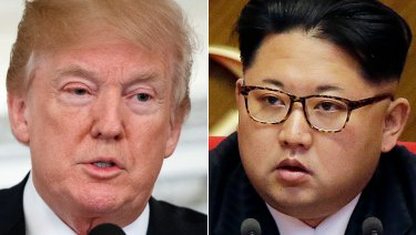 The lawsuit comes weeks before an expected meeting between Donald Trump and North Korea's Kim Jong-un