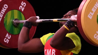 Arcangeline Fouodji Sonkbou, of Cameroon, was one of several athletes initially reported missing.