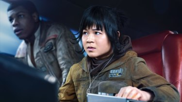 Kelly Marie Tran as Rose in Star Wars: The Last Jedi.