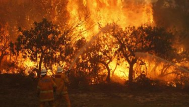 Australia is at risk of more bushfires as climate change continues.