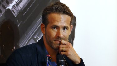 Actor Ryan Reynolds is busy promoting his new film Deadpool 2.