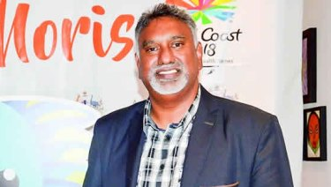 Kaysee Teeroovengadum, chef de mission of the Mauritius Commonwealth Games delegation.