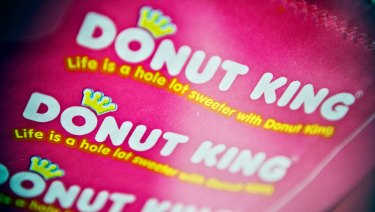 Shares in the ASX-listed owner of Donut King and Gloria Jeans plunged on the company\'s bad news on Friday.
