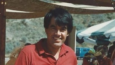 John Hayes, also known as Jivan Azti, at Rajneeshpuram in Oregon in 1983.