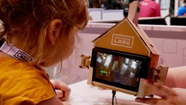 Each toy created uses the Switch screen and controllers to create an interactive experience.