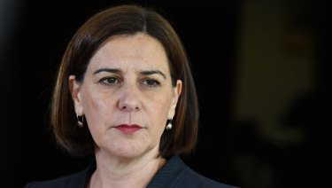 LNP leader Deb Frecklington will address the party's state convention on Sunday.